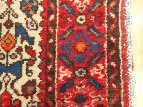 Worn Persian Rug Edge