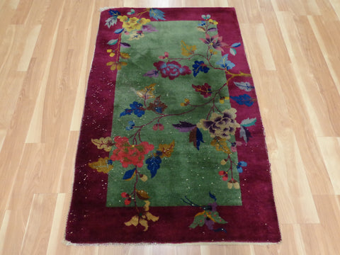 Hand Knotted Chinese Rug