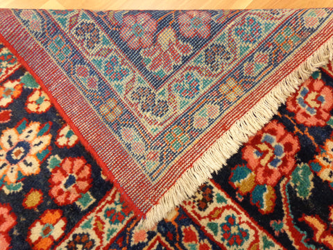 Backside of Oriental Rug