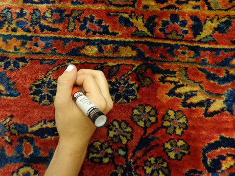 Painting an Oriental rug