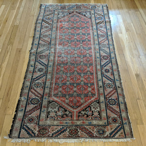 Persian Rug, 3' 4 x 6' 6 Red Orange Melayer - Jessie's Oriental Rugs