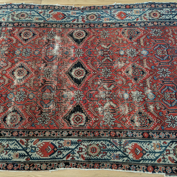 Persian Rug, 4' 5 x 6' Red Melayer