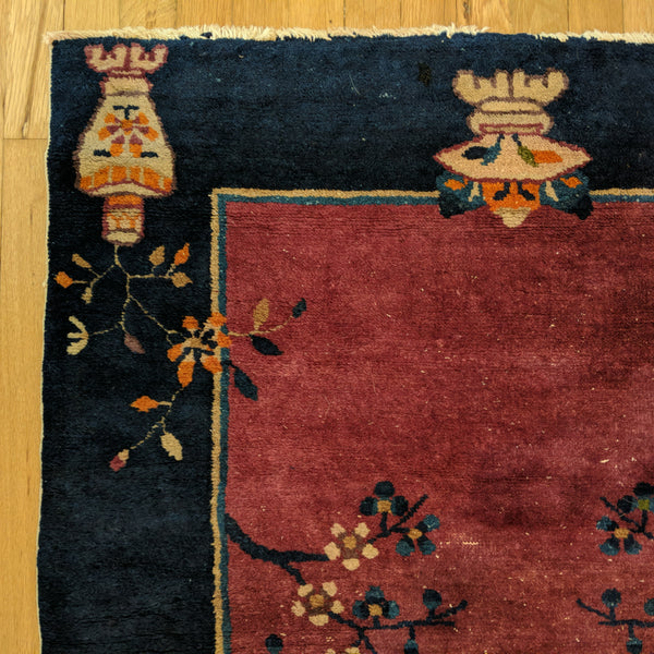 Chinese Rug, 3' 2 x 4' 11 Purple Peking - Jessie's Oriental Rugs