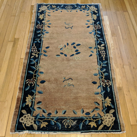 Chinese Rug, 3' 2 x 5' 7 Light Purple Peking - Jessie's Oriental Rugs
