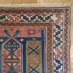 Turkish Rug, 3' 11 x 6' 1 Vintage