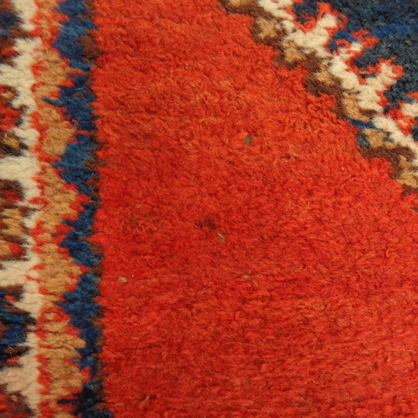 Persian Rug Runner, 2' 5 x 10' 6 Red Orange Meshkin - Jessie's Oriental Rugs