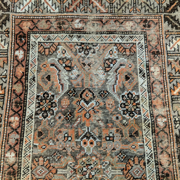 Vintage Rug, 3' 7 x 5' 9 Light Brown