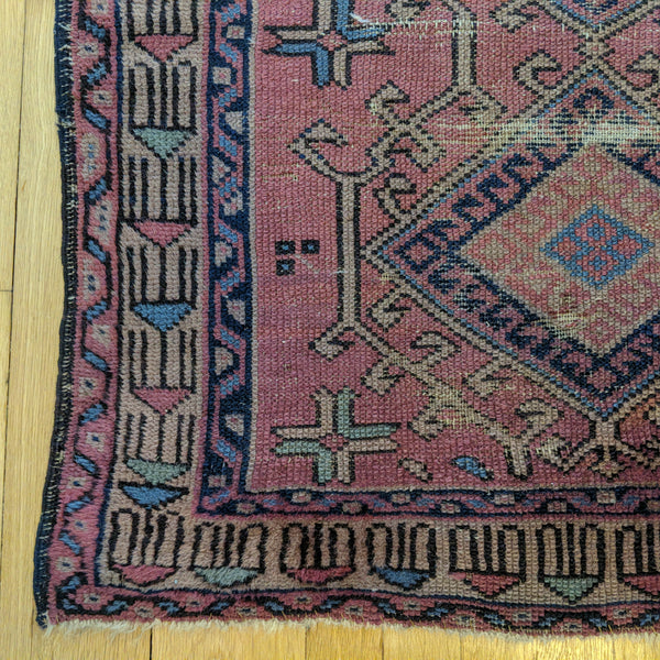 Turkish Rug, 2' 11 x 4' 8 Purple Sparta - Jessie's Oriental Rugs