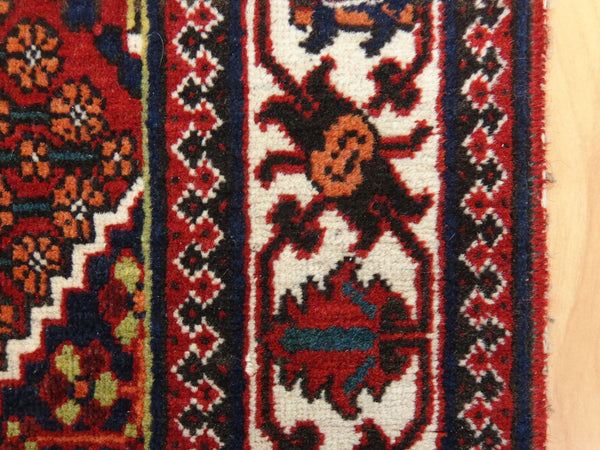 Persian Rug, 3' 7 x 5' 2 Red Joshaghan