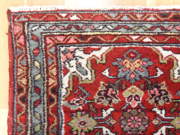 Persian Rug, 2' x 3' 2 Red Hamedan