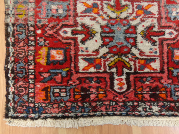 Persian Rug, 2' 1 x 6' 1 Red Runner - Jessie's Oriental Rugs