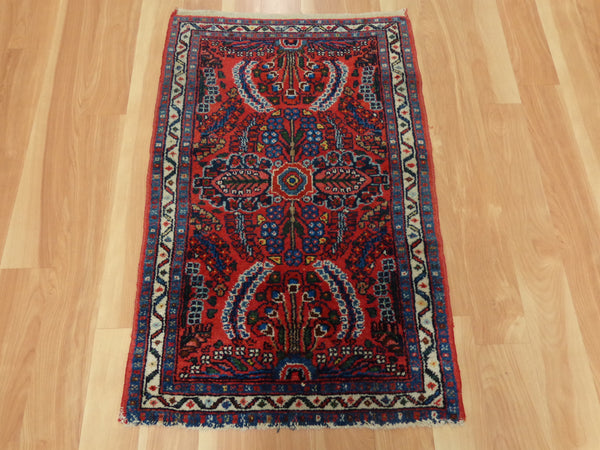 Persian Rug, 2' x 3' 2 Red Dergazine