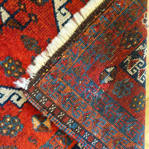 Turkish Rug, 3' x 5' 9 Red Tribal - Jessie's Oriental Rugs