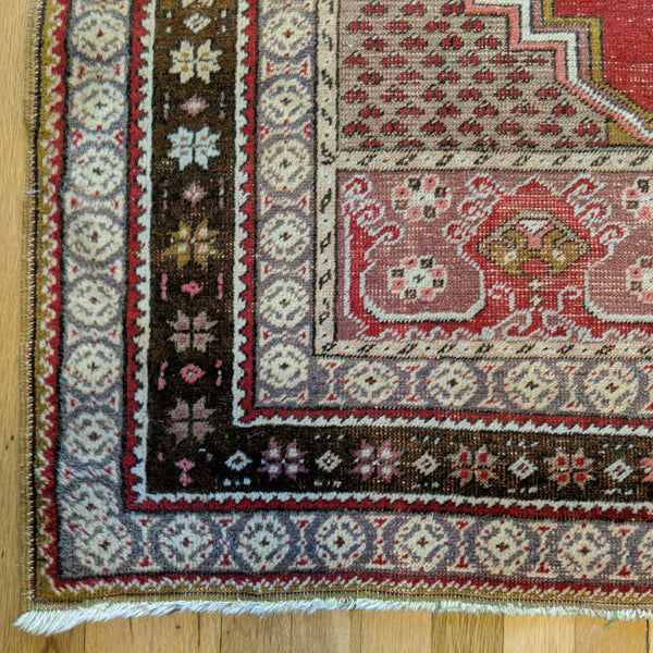 Turkish Rug, 3' 7 x 5' 10 Red - Jessie's Oriental Rugs