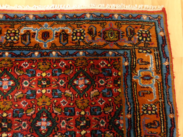 Indian Rug, 2' 5 x 4' 8 Red Bidjar - Jessie's Oriental Rugs