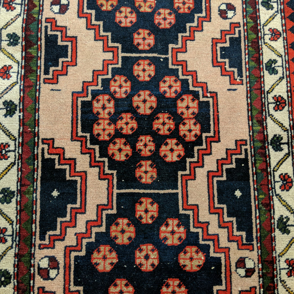 Turkish Rug, 2' x 3' 4 Beige Tribal - Jessie's Oriental Rugs