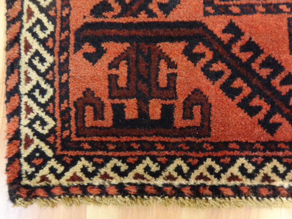 Baluch Rug, 3' 11 x 6' 7 Brown Tribal - Jessie's Oriental Rugs