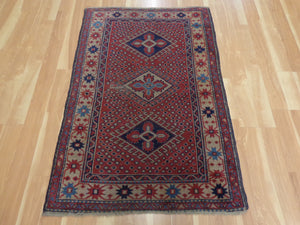 Turkish Rug, 3' 2 x 4' 10 Purple Sparta - Jessie's Oriental Rugs