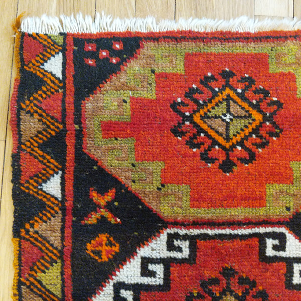 Turkish Rug, 2' x 3' Black - Jessie's Oriental Rugs