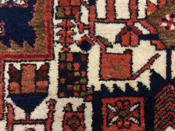 Persian Rug, 4' 7 x 6' 5 Brown Afshar