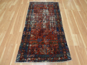 Persian Rug, 3' 4 x 6' 6 Red Lilihan
