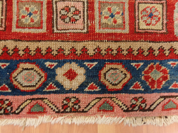 Persian Rug, 2' 8 x 5' 9 Orange Heriz - Jessie's Oriental Rugs
