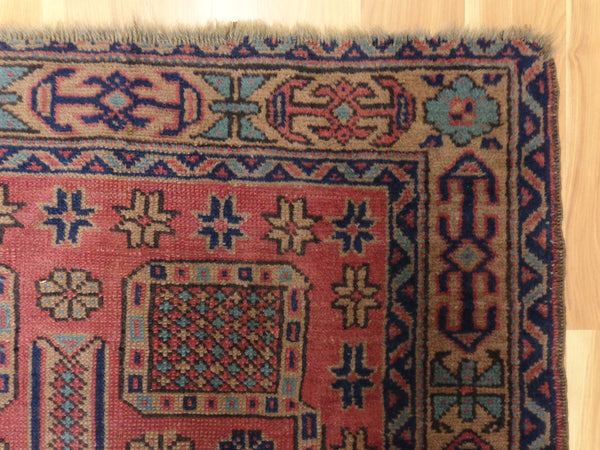 Turkish Rug, 3' 4 x 5' 10 Purple Sparta - Jessie's Oriental Rugs
