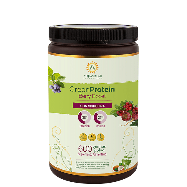 Green Protein Berry Boost 600gr - Superalimentos - Mercado Silvestre
