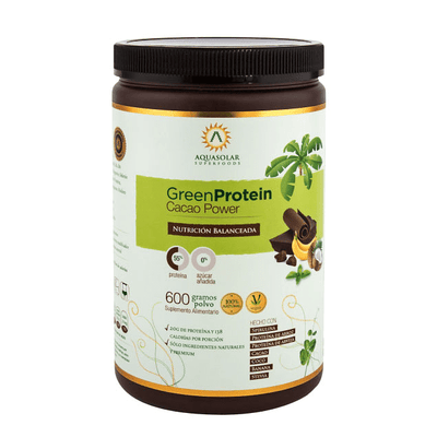 Green Protein Cacao Power 600gr - Superalimentos - Mercado Silvestre