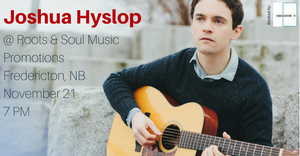 Joshua Hyslop in Fredericton, NB (Nov 21, 2017)