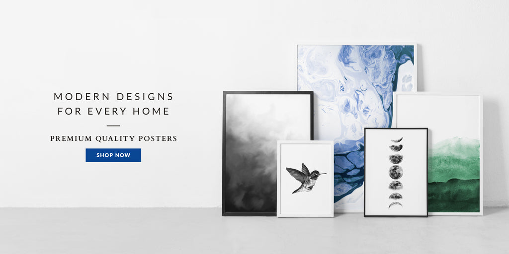Modern Designs for Every Home Premium Quality Posters
