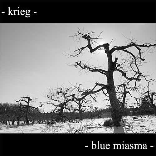 Krieg - Blue Miasma - LP+ EP (limited to 588 black vinyl)