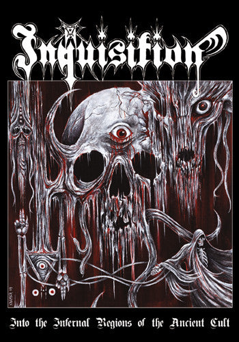 Inquisition - Into The Infernal Regions Of The Ancient Cult - A-5 Digi CD (limited to 1000 copies)