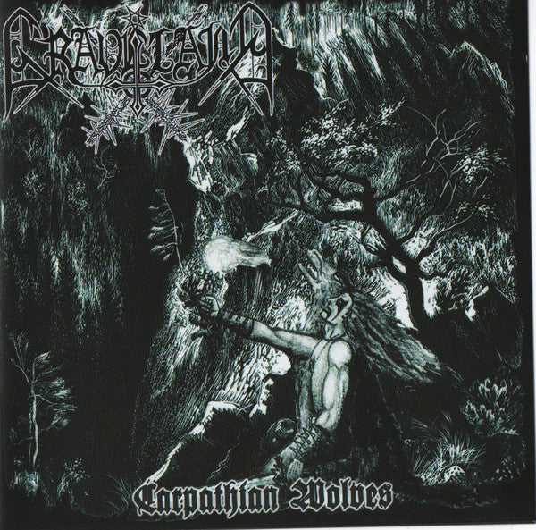 Graveland - Carpathian Wolves - Jewelcase CD (re-release with 4 bonustracks)
