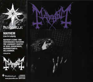 Mayhem - Live In Leipzig - CD