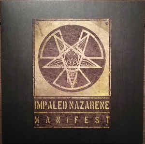 Impaled Nazarene - Manifest - LP (yellow)