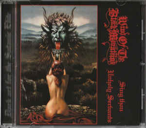 Wind of the black Mountains - Sing Thou Unholy Servants - CD