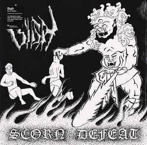 Sigh -  Scorn Defeat - LP (white)