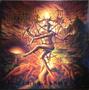 Impaled Nazarene - Ugra - Karma - LP ( Swirl Neon Orange/Gold)