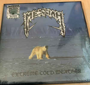 Messiah - Extreme Cold Weather - LP (Ice Blue/White Splatter)