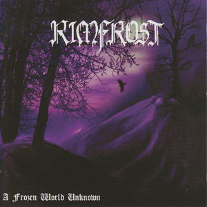 Rimfrost - A Frozen World Unknown - CD