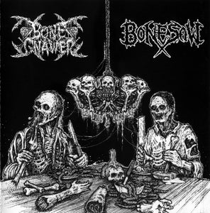 Bone Gnawer / Bonesaw - Split Mini CD