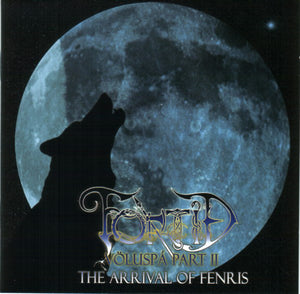 Fortid - Völuspa Part II - The Arrival Of Fenris - CD