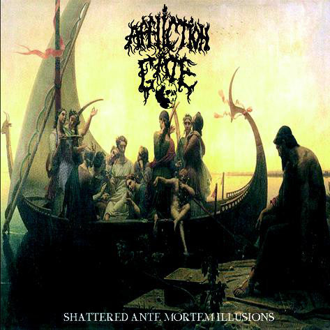 Affliction Gate - Shattered Ante Mortem Illussions - Mini CD