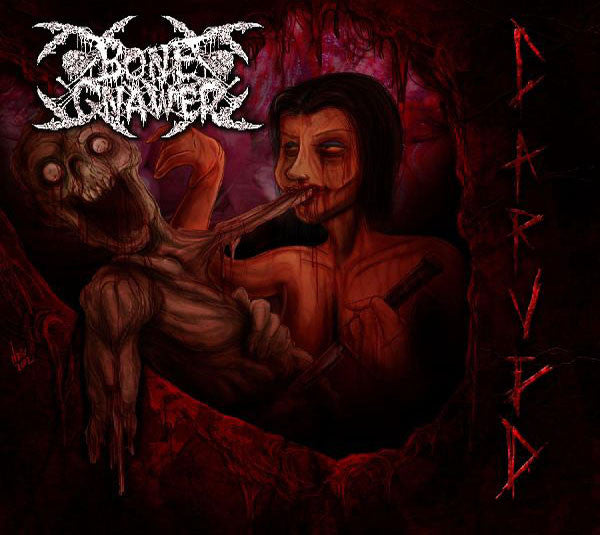 Bone Gnawer - Carved - Mini CD