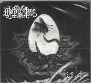 Mutiilation - Majestas Leprosus - LP (black galaxy!)