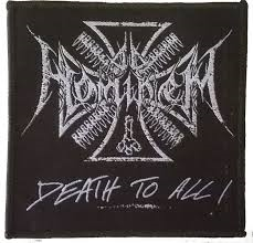 Ad Hominem  Logo+Death To All  Patch
