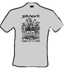Sounder - Praise be to Death - T-Shirt