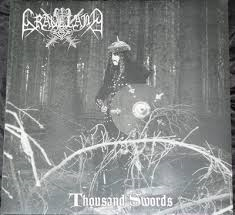 Graveland - Thousand Swords - CD (old cover, 16 page booklet)