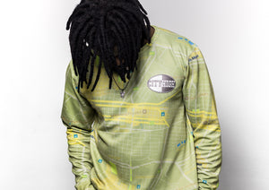 [menswear Jozi-Town scuba printed long-sleeve top] - City High